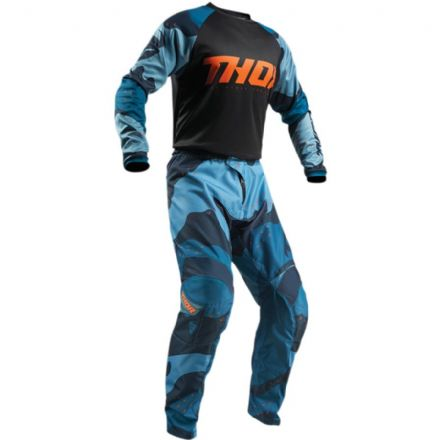 "Thor Sector Camo Blue SALE 34""-Large & 36""-XL"